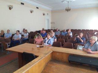 Засідання госпітальної ради Кропивницького госпітального округу провели в Олександрівському районі
