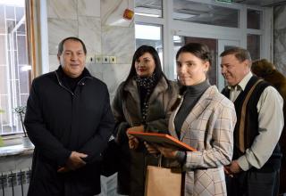 «Електронна черга» - перший етап модернізації міської дитячої поліклініки у Кропивницькому