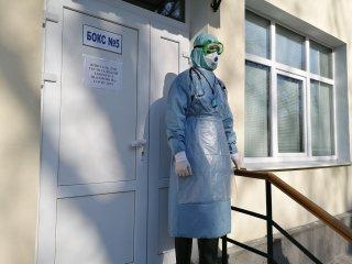 Центральна міськлікарня зможе перепрофілюватисяу разі масового надходження хворих на гостру респіраторну хворобу, спричинену коронавірусом