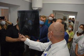 Оновлений травмопункт із сучасним рентгенапаратом працюватиме на базі лікарні швидкої меддопомоги (ФОТО)