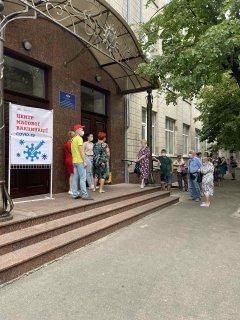 В НВО №6 розпочав роботу Центр масової вакцинації від COVID-19 (ФОТО)